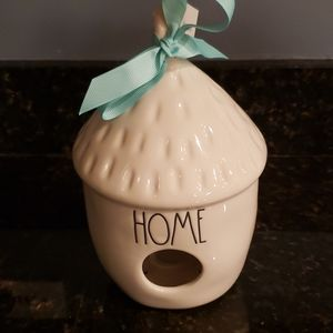 NEW Rae Dunn *HOME* Acorn Birdhouse